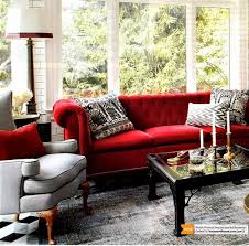 How To Decorate Living Room With Red Sofa by Red Sofa With Black And White Contrast Decor Pinterest