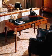 scrivania stile impero scrivania in pelle in stile impero 133 colombo mobili