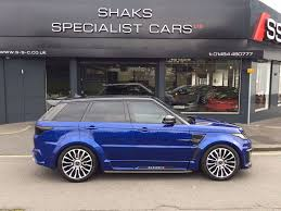 land rover svr price used blue land rover range rover sport for sale west yorkshire