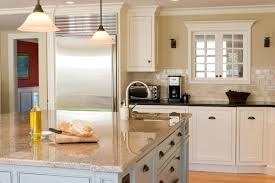 pictures of kitchens with white cabinets and granite