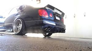 lexus gs430 tires size 2001 lexus gs430 straight pipe exhaust youtube