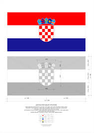 meaning of the color blue flag of croatia wikipedia