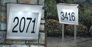 light up address sign solar powered address light solar lighting ideas white planter
