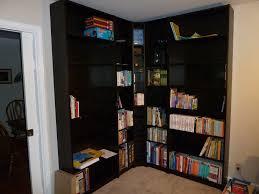 Black Corner Bookcase Bookshelf Glamorous Ikea Corner Bookshelf Marvellous Ikea Corner