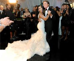 Celebrity Wedding Dresses The Best Celebrity Wedding Dresses Of All Time Weddingdash Com