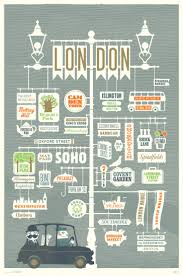 Los Angeles Map Poster by 104 Best Illustrated Maps Images On Pinterest Illustrated Maps
