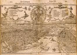 Map Of Frankfurt Germany by Map Of Frankfurt Am Main 1550 Sebastian Munster