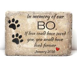 dog memorial pet memorial etsy