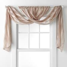 bathroom curtain ideas for windows not this fabric but draped like this in the kitchen would let