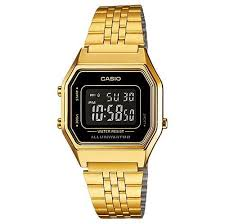 Jam Tangan Casio Gold jual jam tangan casio wanita la680wg 1 cewek warna emas gold