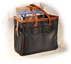 Handmade Leather Tote Bag - handmade american leather tote bag s for