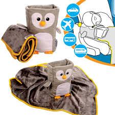 kids travel pillow images Armrest buddy travel pillow blanket for kids homgar jpg