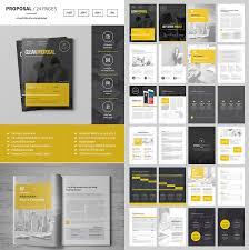 design proposal design proposal brochure templates creative