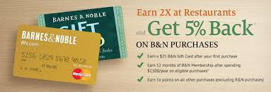 Barnes And Nobles Membership Shop Wisely With These 6 Great Store Credit Cards