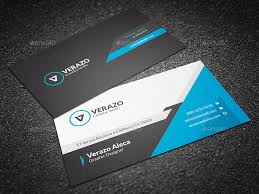 Business Cards Attorney Modern Blue Corporate Business Card Template By Verazo Graphicriver