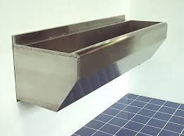 Scrub Up stainless design services ltd surgeons scrub up troughs