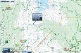 Whistler Canada Map by Rainbow Lake Map