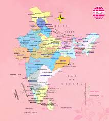 Hyderabad India Map by Buddhist Map India Buddhist Pilgrimage Tours