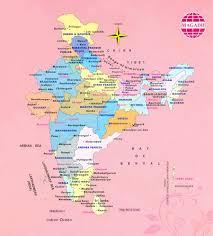 Distance Map Buddhist Map India Buddhist Pilgrimage Tours