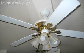 refinished ceiling fan u0027s crafty life
