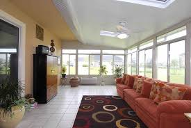 dining room round window treatments horizontal striped curtains