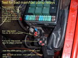 i would replace the main relay