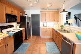 kitchen remodel ideas with oak cabinets stunning kitchen flooring ideas with oak cabinets gallery best