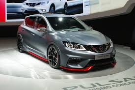 Nissan Almera Nismo Interior The Nissan Pulsar Nismo Concept Joins The Family