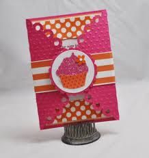 handmade cupcake invitations 1st birthday set of 10 by