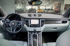 porsche agate grey interior 2017 porsche macan turbo for sale in colorado springs co 17203