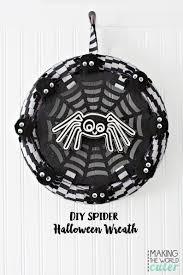 Halloween Spider Wreath by Spider Halloween Wreath