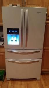 whirlpool under cabinet ice maker whirlpool 24 5 cu ft french door refrigerator in monochromatic