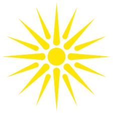 file sun of vergina svg wikimedia commons