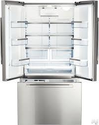 Counter Depth Stainless Steel Refrigerator French Door - 36 counter depth 36inch width french fdbc2250ss 36