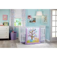 little love adorable orchard 3 piece crib bedding set walmart com