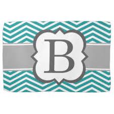 monogram letter b letter b monogram kitchen towels zazzle