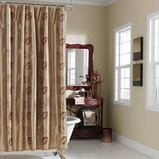 shower curtain luxury with natural leaf pattern shower curtain for
