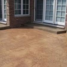 Cement Patio Sealer Acid Stain Concrete Patios Vivid Decorative Concrete Concrete
