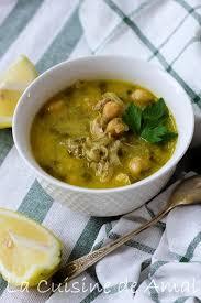 cuisine traditionnelle algeroise chorba bayda soupe algéroise blanche la cuisine de amal