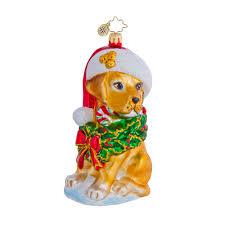 christopher radko ornaments 2015 radko dog christmas ornament