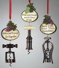 wine bottle openers ornaments set of 3