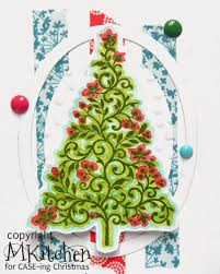 on a stampage case ing christmas watercolored christmas tree