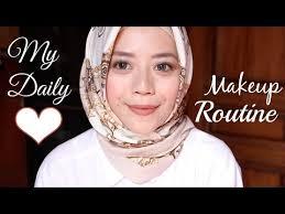 review tutorial makeup sehari hari my daily makeup tutorial indonesia daily makeup routine
