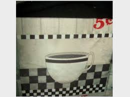 Coffee Print Kitchen Curtains Kitchen Curtains Sets Trends Including Coffee Themed Tiers