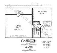 carson house plan house plans by garrell associates inc