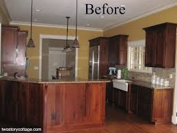 How To Update Old Kitchen Cabinets How To Update Old Cherry Kitchen Cabinets Kitchen