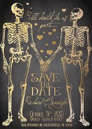 Halloween Wedding Reception Decorations Halloween by Spooktacular Halloween Wedding Invitations Till Death Death And