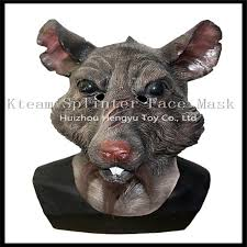 Halloween Rat Costume Halloween Party Cosplay Splinter Mask Teenage Mutant Ninja