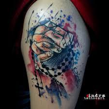 glory tattoo jakarta indonesia watercolor tattoo tattoo jakarta tattoo depok b