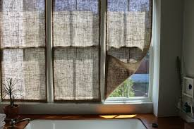 Ace Of Shades Blinds The Shingled House Diy Easy Burlap Shades For Less Than 20 Each